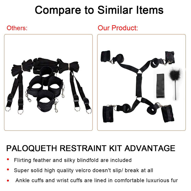 PALOQUETH Under Bed Restraints